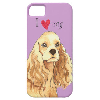 I Love my Cocker Spaniel Barely There iPhone 5 Case