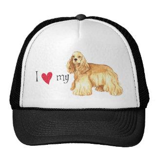 I Love my Cocker Spaniel Cap
