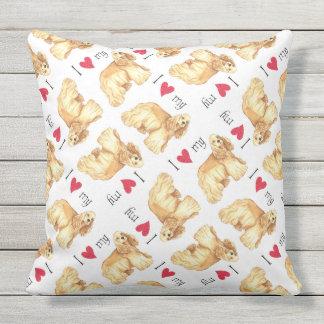 I Love my Cocker Spaniel Cushions