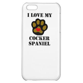 I Love My Cocker Spaniel iPhone 5C Covers