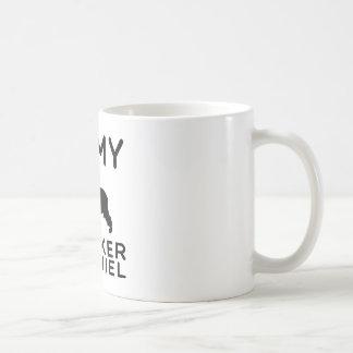 I Love My Cocker Spaniel. Coffee Mugs