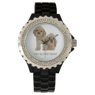 I love my cocker spaniel watches