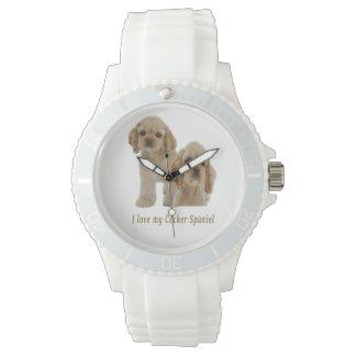 I love my cocker spaniel wristwatches