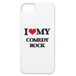 I Love My COMEDY ROCK Case For iPhone 5/5S