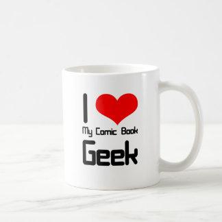 I love my comic book geek coffee mug