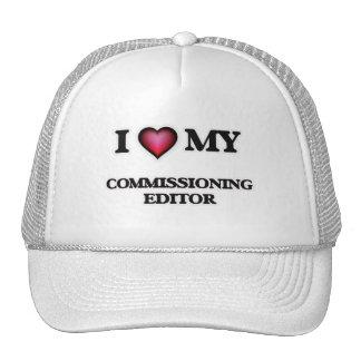 I love my Commissioning Editor Cap