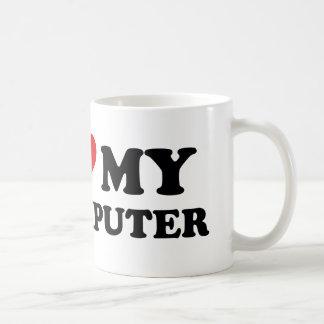 I Love My Computer Coffee Mug