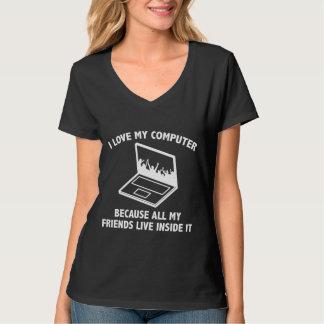 I Love My Computer Shirts