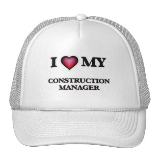 I love my Construction Manager Cap