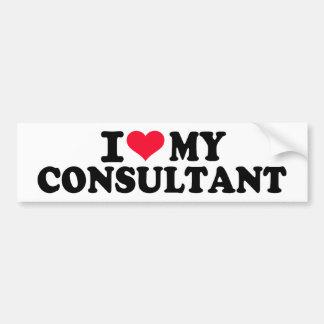 I love my Consultant Bumper Sticker