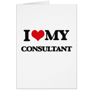 I love my Consultant Cards