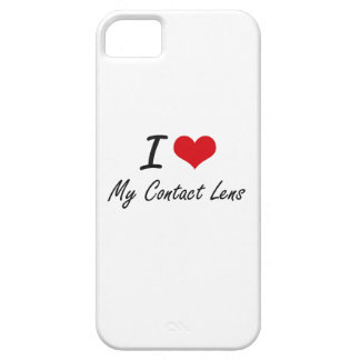 I love My Contact Lens iPhone 5 Covers