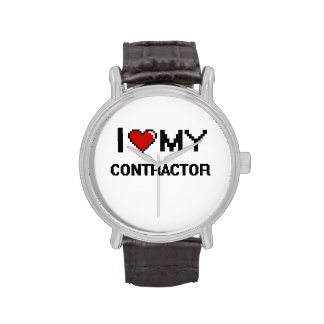 I love my Contractor Wrist Watches