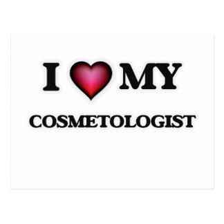 I love my Cosmetologist Postcard