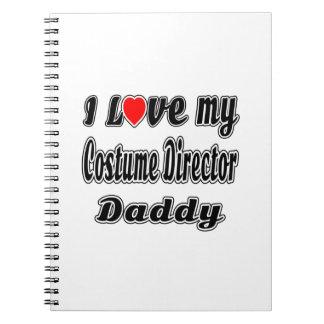 I Love My Costume Director Mom Notebooks