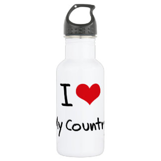 I love My Country 532 Ml Water Bottle