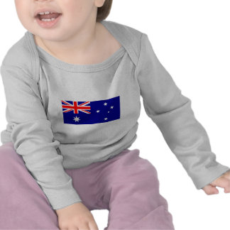 I Love MY Country Australia Flag Template T-shirt