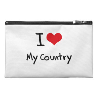 I love My Country Travel Accessories Bag