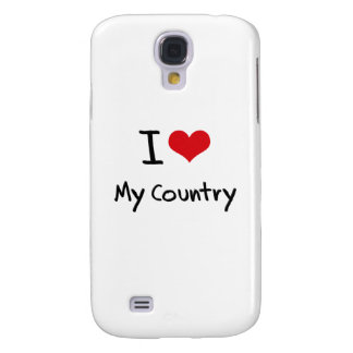 I love My Country Galaxy S4 Covers