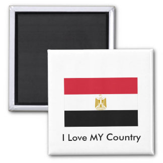 I Love MY Country Egypt Flag The MUSEUM Zazzle Fridge Magnets