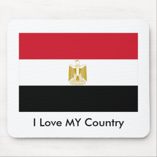 I Love MY Country Egypt Flag The MUSEUM Zazzle Mouse Pads