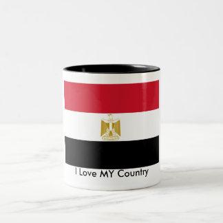 I Love MY Country Egypt Flag The MUSEUM Zazzle Coffee Mug