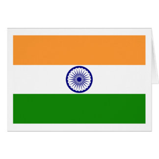 I Love MY Country India Greeting Card
