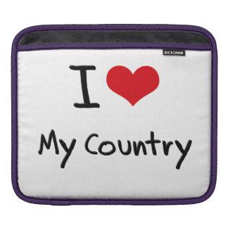 I love My Country iPad Sleeve