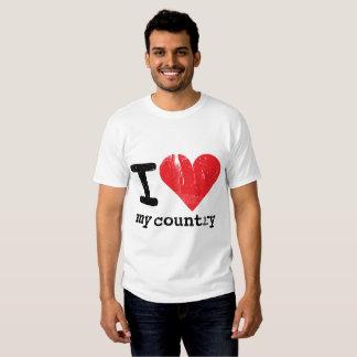 I love my country Men's Basic T-shirt