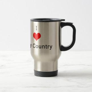 I love My Country Mugs