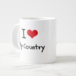 I love My Country Jumbo Mugs