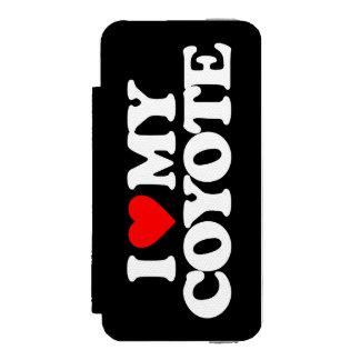 I LOVE MY COYOTE INCIPIO WATSON™ iPhone 5 WALLET CASE