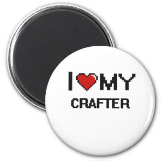 I love my Crafter 2 Inch Round Magnet