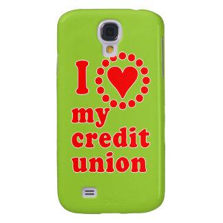 I Love My Credit Union Tshirts Samsung Galaxy S4 Covers