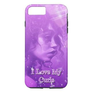 I Love My Curls iPhone 7 Plus Phone Case