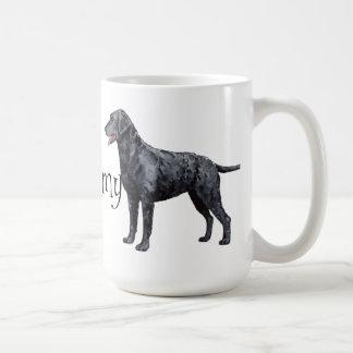 I Love my Curly-Coated Retriever Coffee Mug
