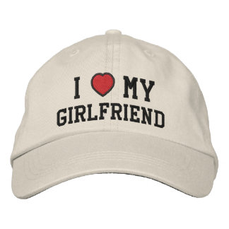 I Love My Customizable Hat Embroidered Hats