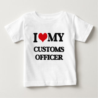 I love my Customs Officer Tshirts