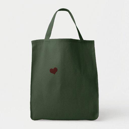 I Love My Dachshund (Male Dog) Bag