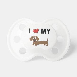 I love my dachshund pacifiers