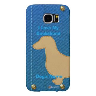 I Love My Dachshund Samsung Galaxy S6 Cases