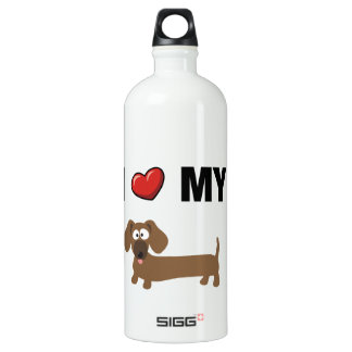 I love my dachshund SIGG traveller 1.0L water bottle