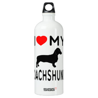 I Love My Dachshund. SIGG Traveller 1.0L Water Bottle