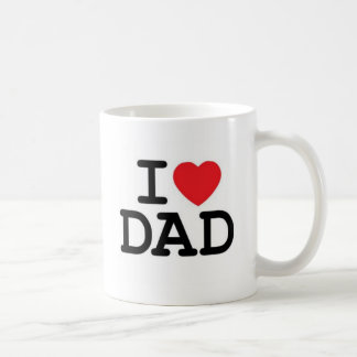 I love my dad! coffee mug