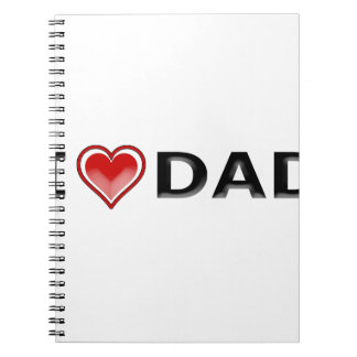 I Love My Dad Notebooks