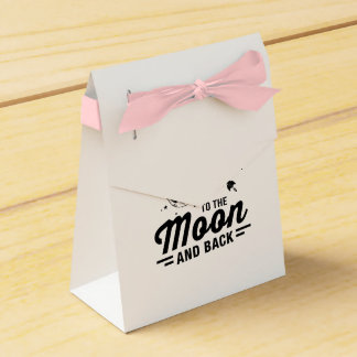 I Love My Dad To The Moon And Back Favour Box