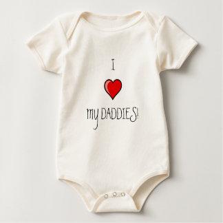 I LOVE MY DADDIES! BABY BODYSUIT