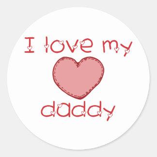 I love my daddy sticker