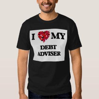 I love my Debt Adviser Tee Shirt