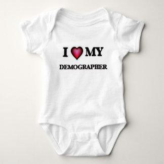 I love my Demographer Infant Creeper